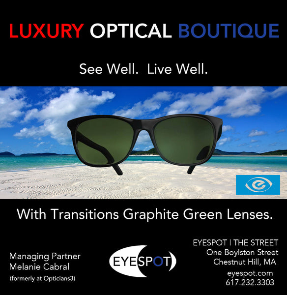 Transition Graphite Green Lenses for the Summer