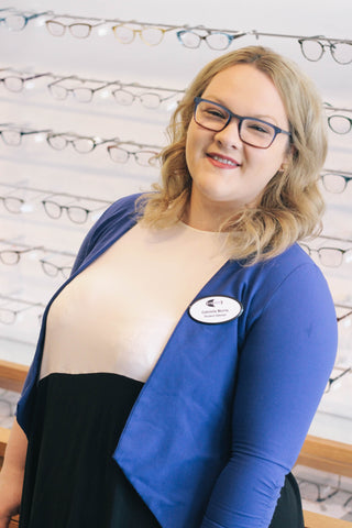 Gabrielle Morris is a student optician at EYESPOT