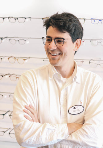 Simon Archabault is an ophthalmic technician at EYESPOT
