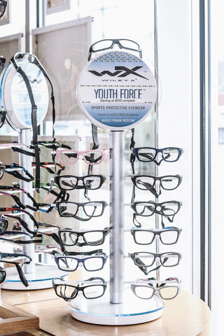 Wiley X safety eyewear is available at EYESPOT Chestnut Hill Newton