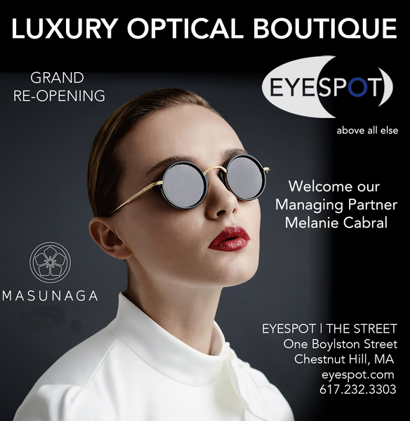 EYESPOT Masunaga Boston Magazine Ad 2017