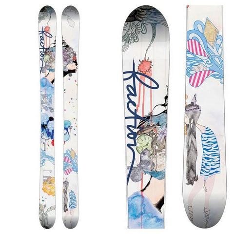 Faction Supertonic Women's All-Mountain Powder Ski - New 2017