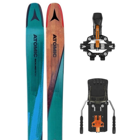 Atomic Backland FR 117 Ski + Backland Tour AT Tech Binding - Gently Used 2018