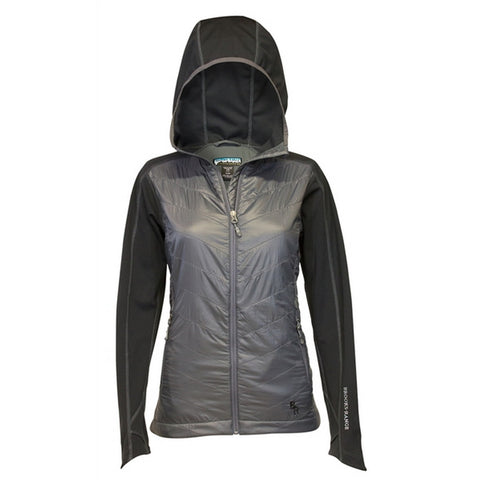 Brooks Range Mountaineering Women's Alpha Softshell Jacket - Charcoal