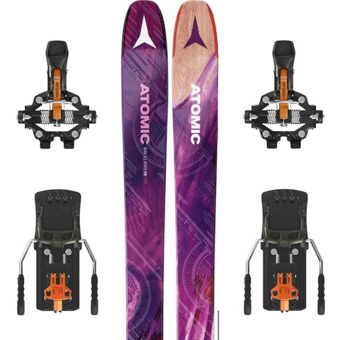 Atomic Backland FR 109 W Women's Ski + Backland Tour Binding - Gently Used 2018