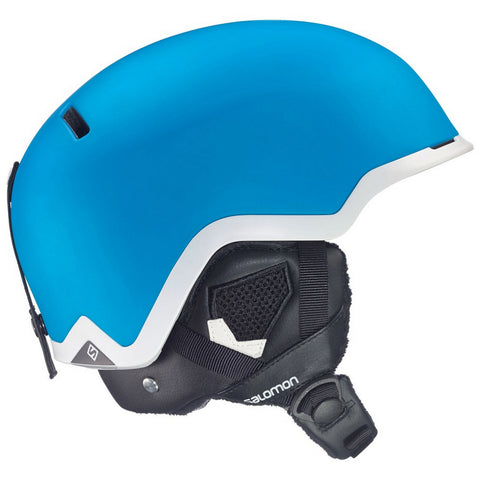 Salomon Hacker Custom Air Men's All-Mountain Ski/Snowboard Helmet - Blue