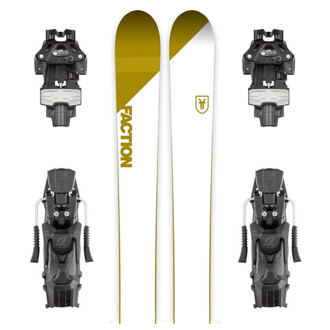 Faction Candide CT 4.0 Freeride Powder Ski + Attack 13 Binding - Gently Used 2018