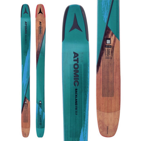 Atomic Backland FR 117 Men's Freeride Powder Ski