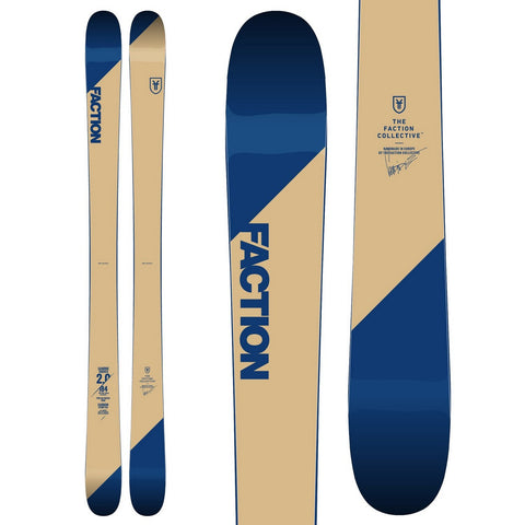 Faction Candide 2.0 CT Symmetrical Twin Rockered All-Mountain Ski