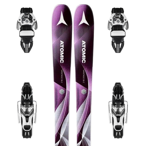 Atomic Vantage WMN 95 C Women's Ski + Warden 11 DT Binding - New 2018
