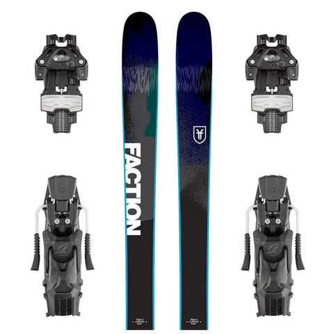 Faction Dictator 1.0 All-Mountain Ski + Attack 13 DT Binding - Gently Used 2018
