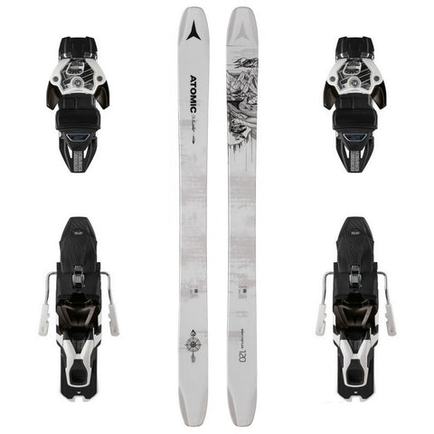 Atomic Bent Chetler 120 Powder Ski + Warden 13 DT Binding - Gently Used 2019