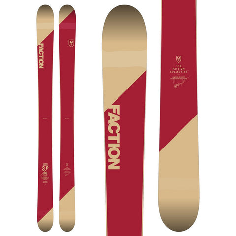 Faction CT 3.0 Candide Thovex Freeride Twin Powder Ski - New 2019