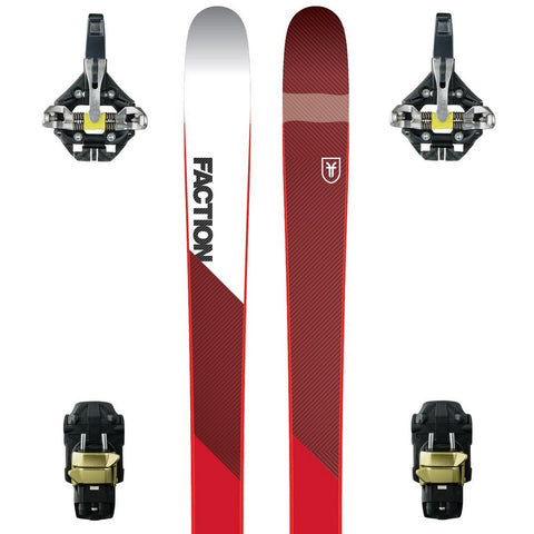 Faction Prime 1.0 Carbon Ski + Dynafit TLT Speedfit AT Binding - New 2018