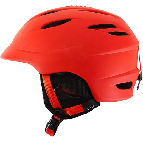 Giro Seam Men's All-Mountain Ski / Snowboard Helmet - Orange Matte