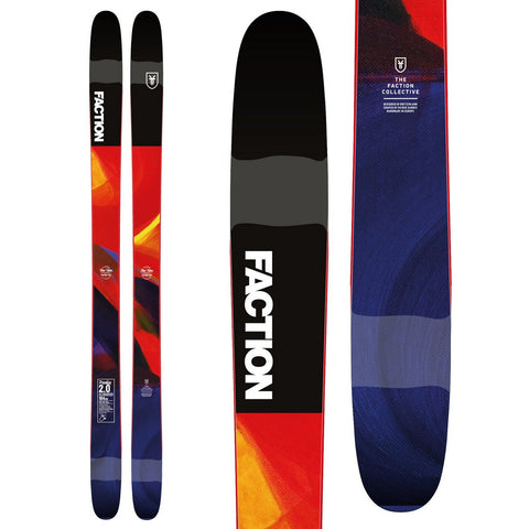 Faction Prodigy 2.0 Men's Rockered All-Mountain Ski