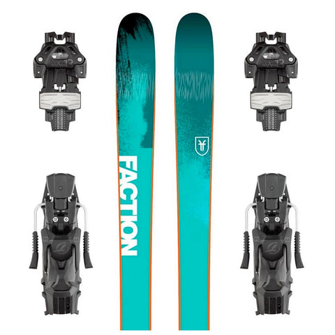 Faction Dictator 2.0 All-Mountain Ski + Attack 13 DT Binding - Gently Used 2018