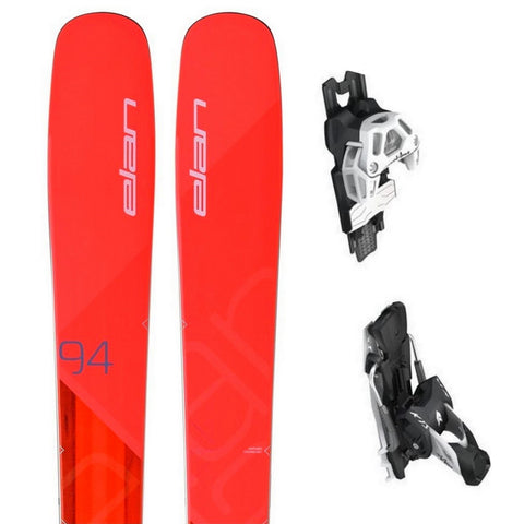 Elan Ripstick 94W Women's All-Terrain Ski + Attack 13 Binding