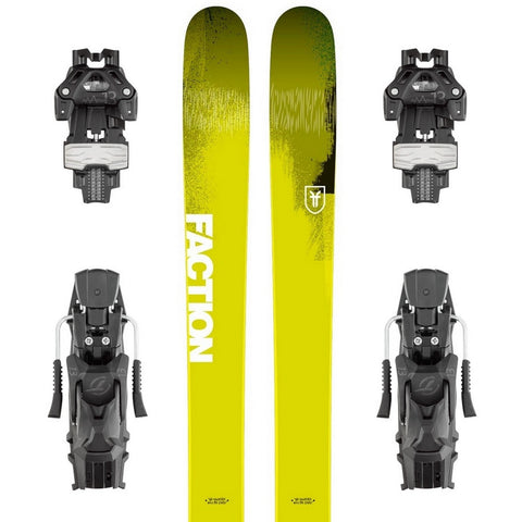 Faction Dictator 4.0 Expert Freeride Ski + Attack 13 DT Binding - Gently Used 2018