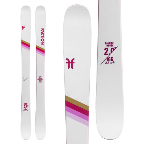 Faction Candide 2.0X Women's All-Mountain Twin Powder Ski - New 2020