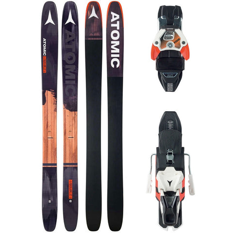 Atomic Backland FR 117 Ski + Warden 13 DT Binding - Gently Used 2017