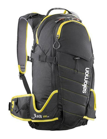 Salomon Lord 20+5L Backcountry Skiing Pack - Black