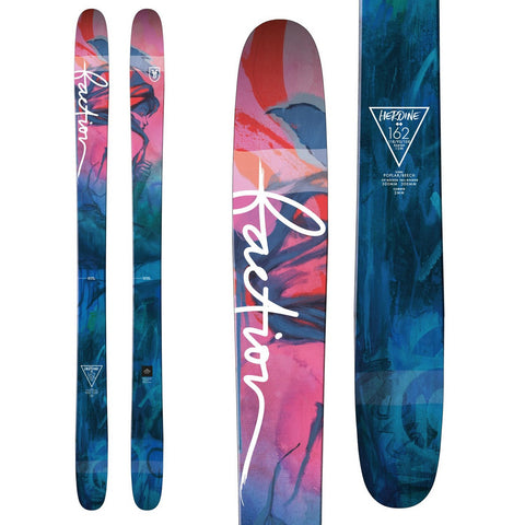 Faction Heroine Women's Rockered All-Mountain Ski - New 2018