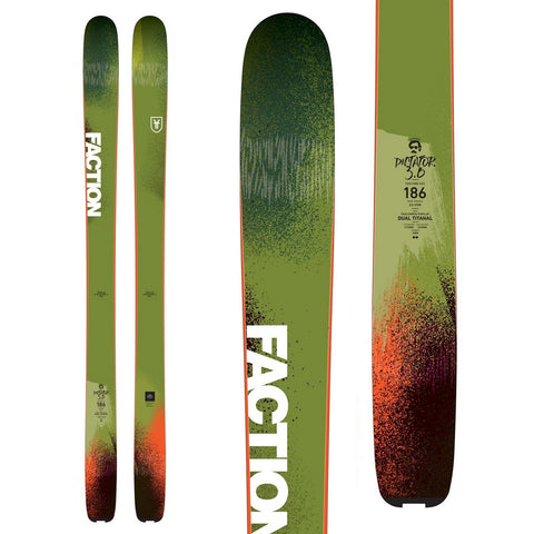 Faction Dictator 3.0 Men's All-Terrain Expert Freeride Ski - New 2018