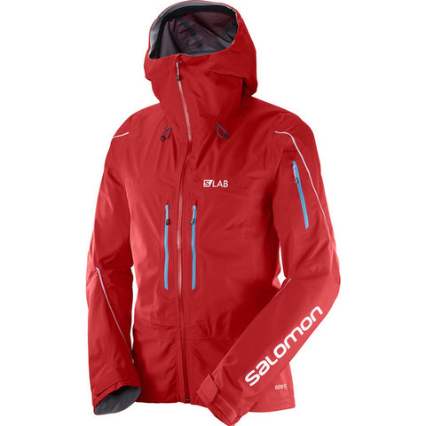 Salomon S/Lab X Alp Pro GTX Men's Gore-Tex Hardshell Jacket - Racing Red