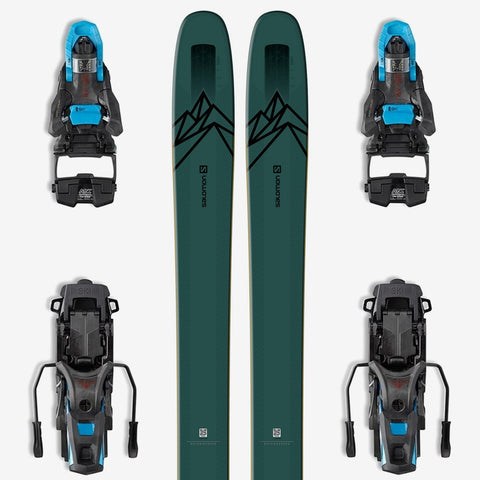 Salomon QST 118 Powder Ski + S/Lab Shift Backcountry Binding
