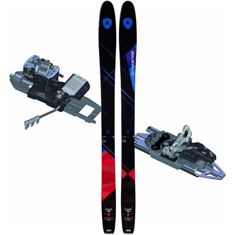 Dynastar Cham 2.0 107 Ski + Look HM 10 Tech Binding - Gently Used 2017