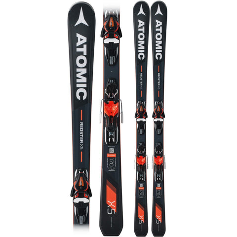 Atomic Redster X5 Frontside Piste Ski + Mercury 11 Binding - Gently Used 2018