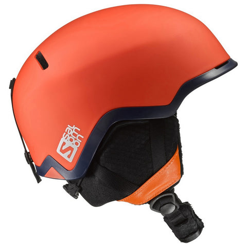 Salomon Hacker Men's All-Mountain Ski/Snowboard Helmet - Orange Matte