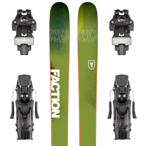 Faction Dictator 3.0 Freeride Powder Ski + Attack 13 Binding - Gently Used 2018