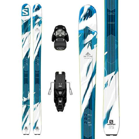Salomon MTN Explore 95 Ski + Warden 13 Binding - Gently Used 2017