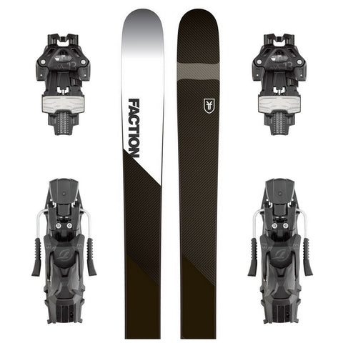Faction Prime 4.0 Carbon Ski + Tyrolia Attack 13 DT Binding - Gently Used 2018