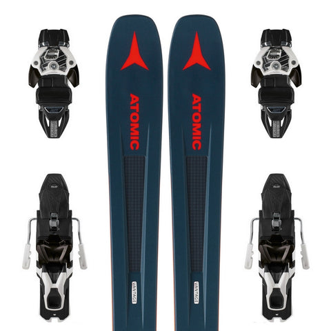 Atomic Vantage 97 C All-Mountain Ski + Warden 13 DT Binding - Gently Used 2019