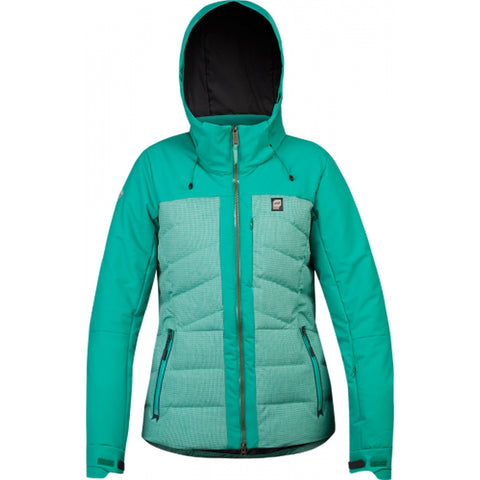Orage Jasmine Insulated Women's Ski Jacket - Dark Jade / Small