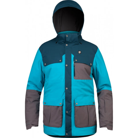 Orage Jefferson Men's Ski / Snowboard Jacket - Turkish Blue