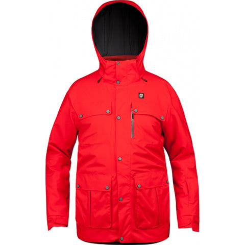 Orage Jefferson Men's Ski Jacket - Fire Red / Large