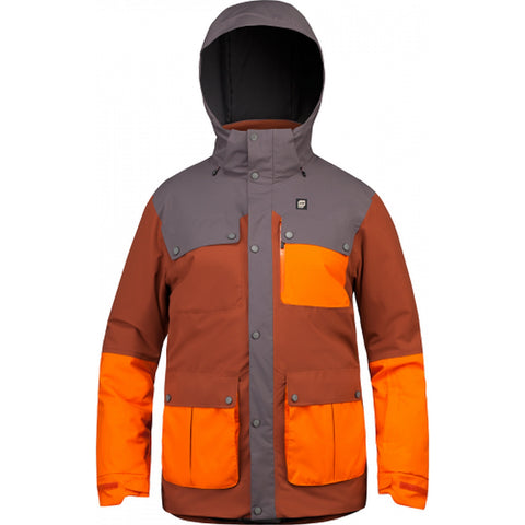 Orage Jefferson Men's Ski / Snowboard Jacket - Sequoia Orange