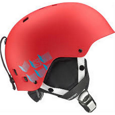 Salomon Jib Junior Snow Helmet - Red Matte / Small