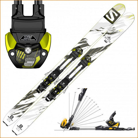 Salomon MTN Lab Ski + Guardian MNC 16 AT Binding - Gently Used 2017