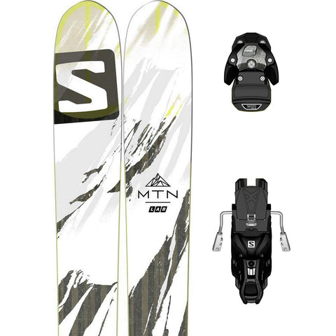 Salomon MTN Lab Freeride Ski + Warden 13 Binding - Gently Used 2017