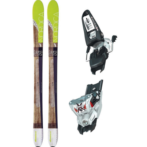 Nordica Nemesis Women's Ski + Marker Squire Binding - Gently Used 2016