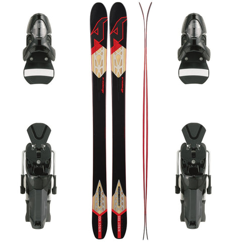 Nordica NRGy 100 Ski + Look PX 15 Racing FS Binding - Gently Used