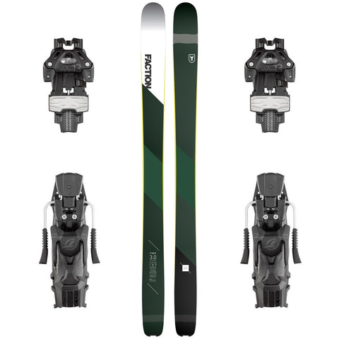 Faction Prime 3.0 Carbon Freeride Ski + Attack 13 DT Binding - Gently Used 2018