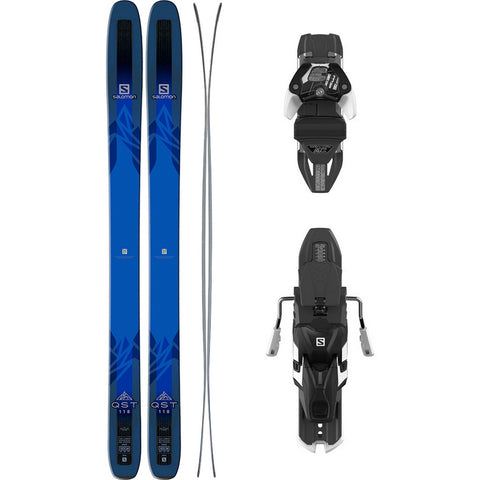 Salomon QST 118 Ski + Warden 13 MNC DT Binding - Gently Used 2017