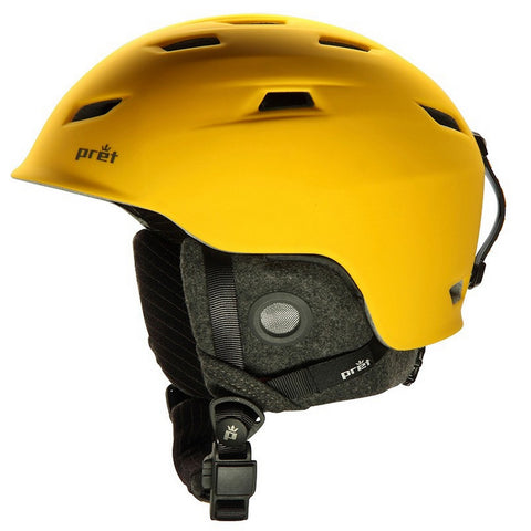 Prêt Shaman Snow Helmet - Rubber Citrus / Small