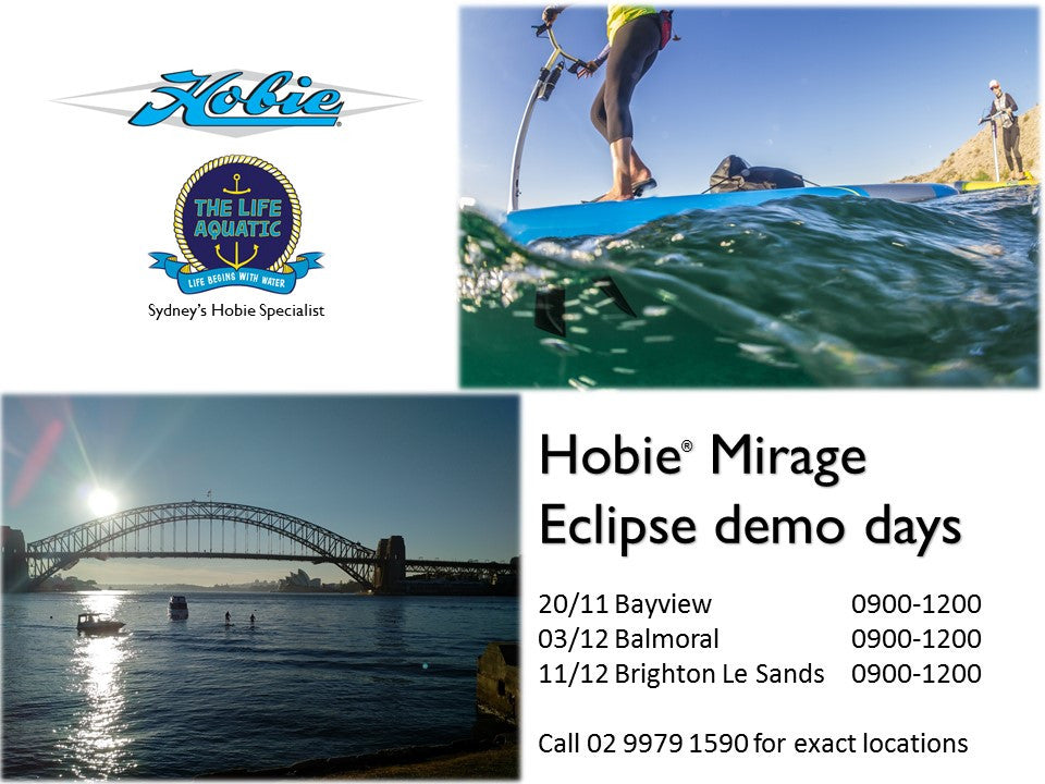Hobie Mirage Eclipse Demo Days